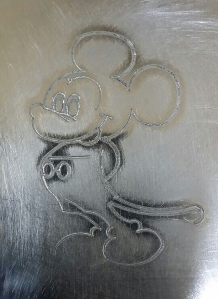 CNC 6040 made Sample