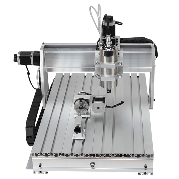 CNC Router 6040 DIY 4 Axis CNC Mill