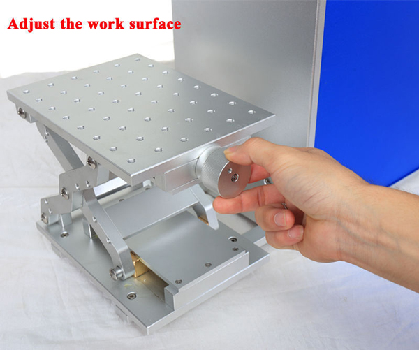 Portable fiber laser marking machine