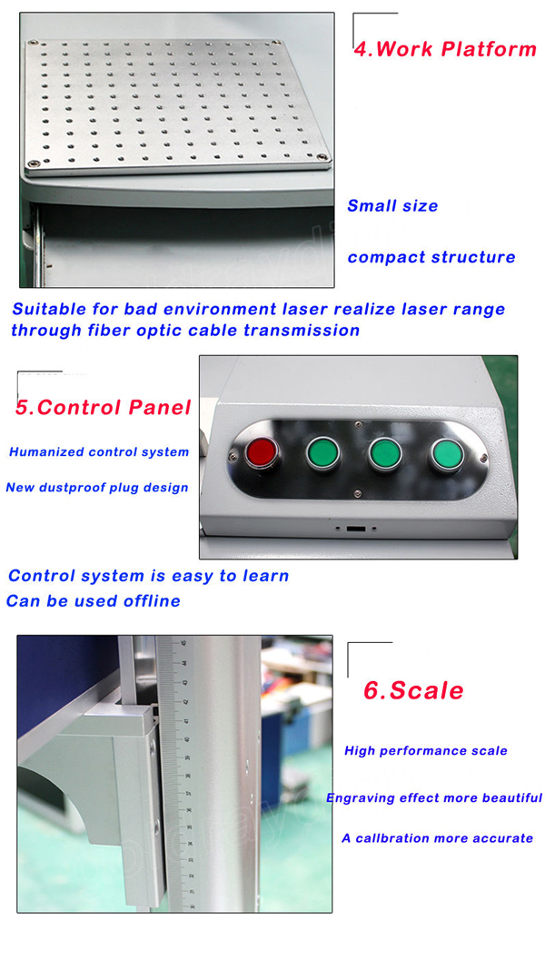 Desktop fiber laser engraver Equipment