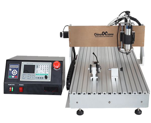 CNC 6040 4 Axis Desktop CNC Router