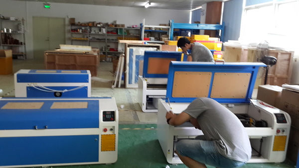 CO2 laser engraver factory