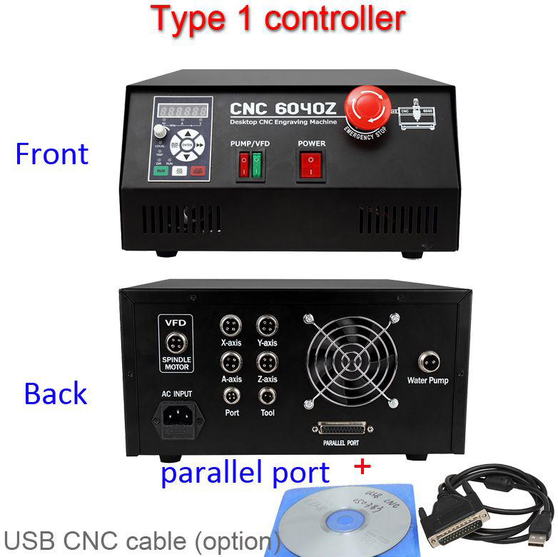 USB and Parallel Port Controller box