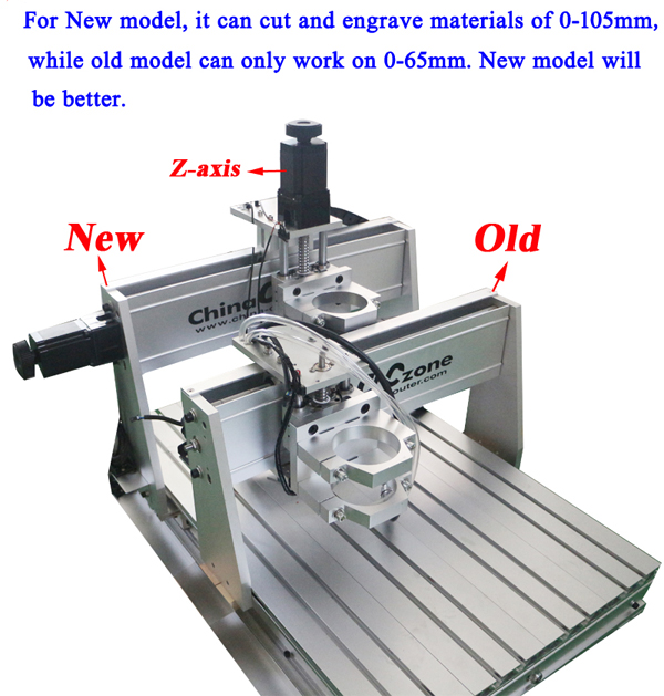 cnc 6040 new and old