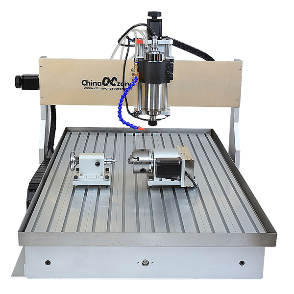 CNC 6090 4 Axis with Cooling