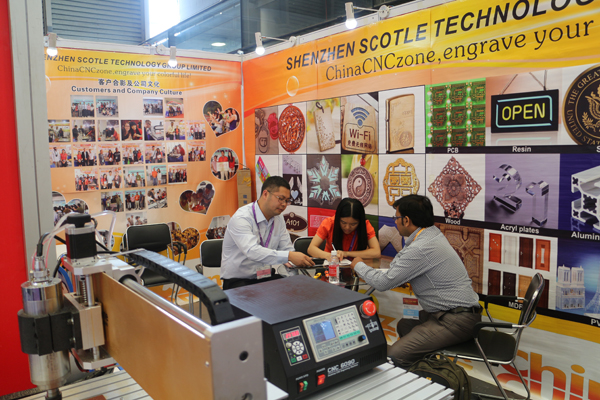 ChinaCNCzone Sign China 2015 Show