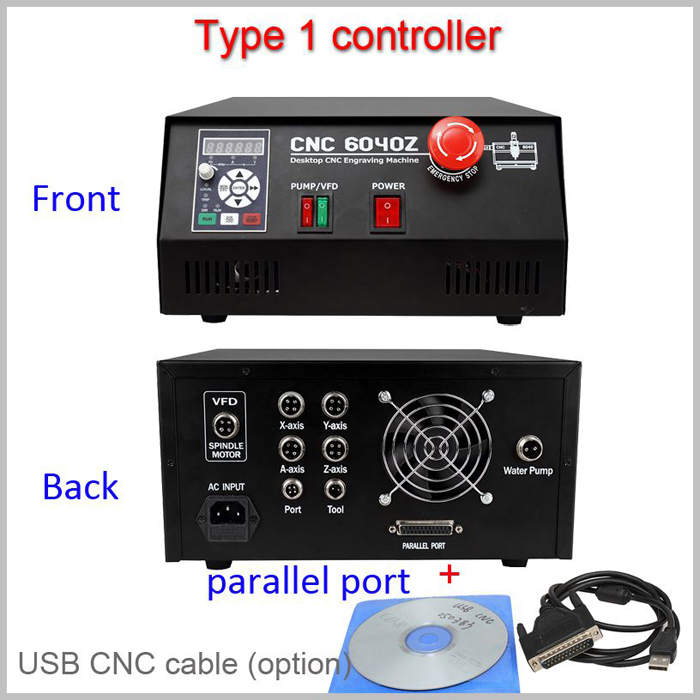 USB and Parallel Controller box