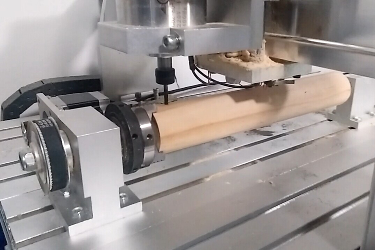 4 Axis CNC Router 6040 for Round Carving