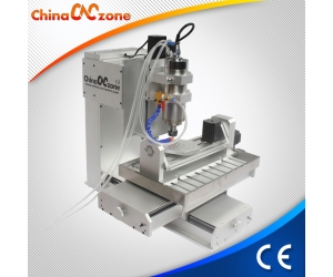Best Small Desktop 5 Axis CNC Mill Machine HY 3040 New for Aluminum Milling for Sale