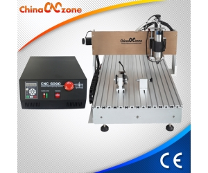ChinaCNCzone CNC 6090 Machine 4 Axe Mini CNC Engraver avec Gantry design 2200W broche