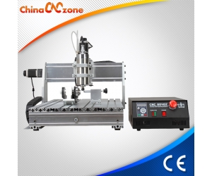 CNC Router 6040 DIY 4 Axis CNC Milling Machine from ChinaCNCzone