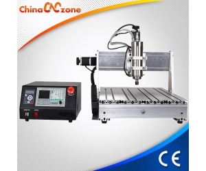China CNC6040 3 Axis Mini CNC Machine for Sale with DSP Controller (1500W or 2200W Spindle)