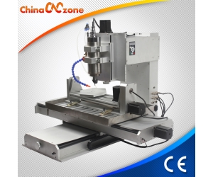 China Desktop Small Mini 5 Axis CNC Router Machine HY 6040 New with 2.2KW and USB