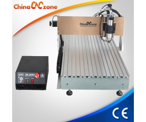 ChinaCNCzone 3 Axis 4 Axis Mach4 CNC 6090 routeur avec Mach4 USB CNC Controller et 1500W 2200W Water cool broche