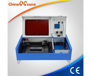 Cortador láser ChinaCNCzone JK 3020 40W China Mini escritorio CO2 DIY en Venta