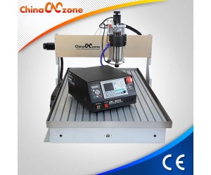 ChinaCNCzone New DSP CNC 6090 3 Axis 4 Axis Mini CNC Router with 1500W/2200W Spindle and Water Cool System Z Axis 150mm