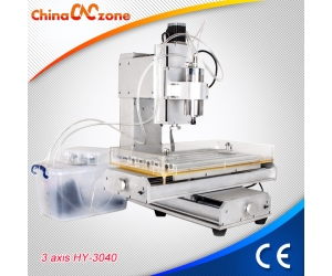 ChinaCNCzone Powerful HY-6040 3 Axis Small CNC Router Machine for Wood, Acrylic, Craftman, Hobby and Workshop (1500W/2200W)