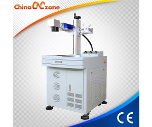 ChinaCNCzone S005 10W/20W/30W/50W Fiber Laser Engraver Marker Machine Equipment System for Metal with 110x110mm  150x150mm  200x200mm  220x220mm  300x300mm for Selection, Factory Price
