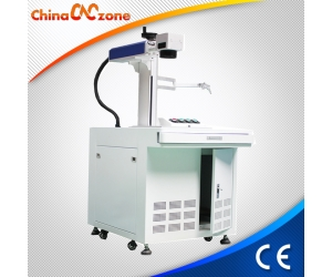 Desktop FLM-002 20W Fiber Laser Engraver Machine Equipment for Engraving Marking Metal