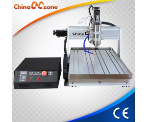 Mach3 USB CNC 6040 3 Axis 4 Axis Mini CNC Router with 1500W/2200W Spindle, Sink Cooling System and Z Axis high to 105mm