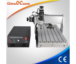 Mini Desktop CNC Machine 3040 3 Axis For Milling Engraving with 500W DC Spindle