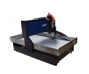 6090 Small CNC Machine for Metal Aluminum Copper Brass Steel from ChinaCNCzone with Mach3 USB Control