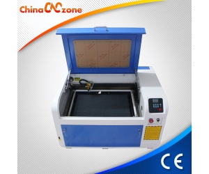 ChinaCNCzone XB-4060 50W/ 60W Desktop CO2 Mini Laser  Engraving Machine Price Cometitive