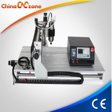 China CNC 6090 Mini CNC Machine van de Gravure 3 Axis met DSP Controller en 2200W Spil fabriek