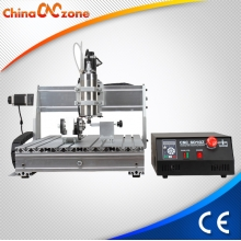 Chine ChinaCNCzone CNC Router 6040 4 axes CNC Milling Machine bricolage usine