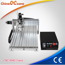 China ChinaCNCzone CNC6040Z Mini Aluminum CNC Machine with 2200W Spindle with 3 Axis 4 Axis for Selection factory