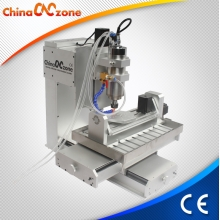 China China Mini Desktop 5 Axis CNC Machine HY 3040 For Milling Engraving With Competive Price. factory