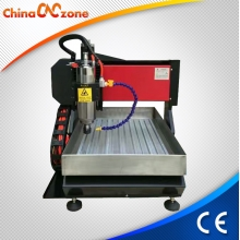China ChinaCNCzone 2200W CNC 3040 4 Axis Mini Engraving Machine for Jewelry factory