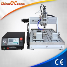 China ChinaCNCzone DSP CNC 6040 Router 3 Axis 4 Axis with 1500W /2200W Spindle and Water Sink Cooling System Z axis 105mm factory