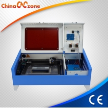 China ChinaCNCzone JK 3020 40W Chinese Mini Desktop CO2 DIY Laser Cutter for Sale factory