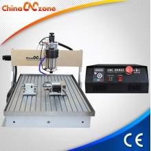 China ChinaCNCzone New 6090 CNC Router 4 Axis with Updated Water Sink Cool System and DSP Mach3 USB CNC Controller for Selection,Price Competitive. factory