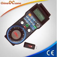 China ChinaCNCzone Wireless MPG Mach3 CNC Pendant Handwheel for 3 Axis,4 Axis Mach3 CNC Router factory