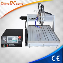 China DSP Mach3 USB CNC Router 6040 3 Axis with Sink Cool System and 1500W, 2200W Spindle Z Axis 105mm from ChinaCNCzone factory