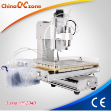 China ChinaCNCzone HY-3040 CNC 3 Axis Router Engraver Machine With Cross Slide factory