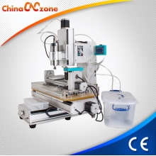 China HY-3040 Small Homemade 5 Axis CNC Milling Machine for Sale factory