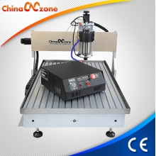 China Latest Desktop 6090 Mini CNC Router Hobby CNC Machine Price Competivie with Water Cooling System factory