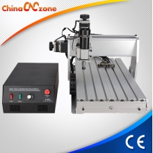 China Mini Desktop CNC Machine 3040 3 Axis For Milling Engraving with 500W DC Spindle factory