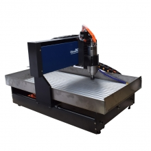 China 6090 Small CNC Machine for Metal Aluminum Copper Brass Steel from ChinaCNCzone with Mach3 USB Control fabriek