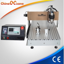 China New Mach 3 CNC 6090 Router 4 Axis com DSP Controlador e poderoso 2200W Spindle fábrica