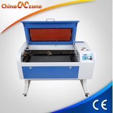 China New Model SL-460 50W CO2 Laser Cutter Engraver Machine voor Glas, Arylic, hout, leer, Plastic fabriek
