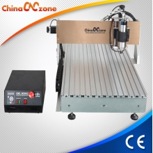 China ChinaCNCzone Krachtige CNC6090 Gantry CNC Router 3 Axis met USB CNC Controller en 2200W Spil fabriek