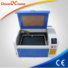 China ChinaCNCzone XB-4060 50W/ 60W Desktop CO2 Mini Laser  Engraving Machine Price Cometitive factory