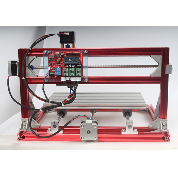 China Hobby Mini DIY CNC Router Machine GRBL Control with Laser