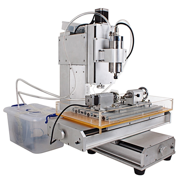 ChinaCNCzone Affordable Hobby HY-6040 4 Axis Mini CNC Router ... on
