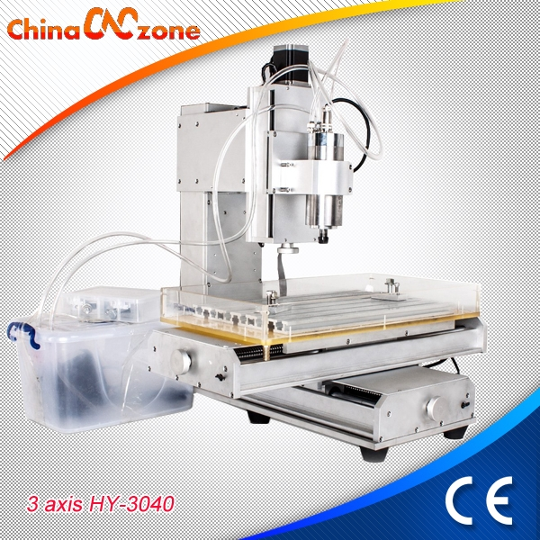 Chinacnczone Powerful Hy 6040 3 Axis Small Cnc Router